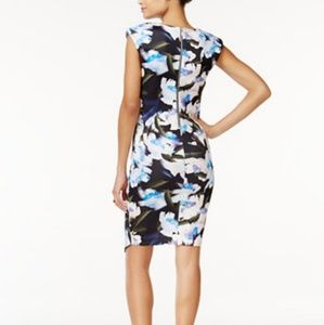 Bar III Cap Sleeve Fit Flare dress NWT